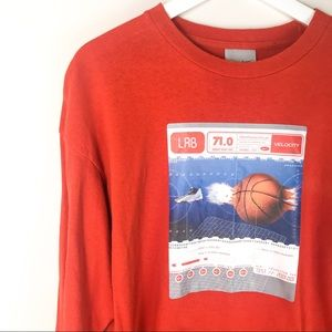 Nike Crewneck Sweatshirt Basketball Graphic